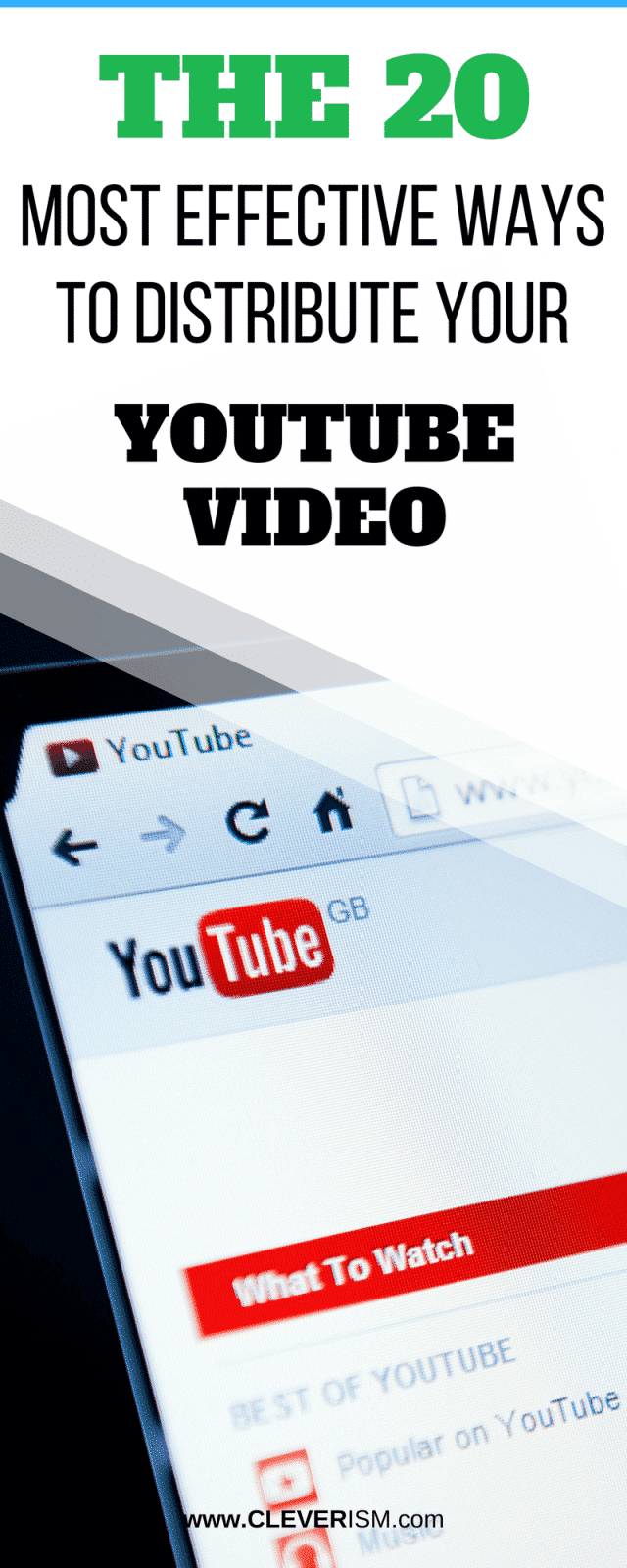 20 most effective ways to distribute your youtube video buycottarizona Image collections