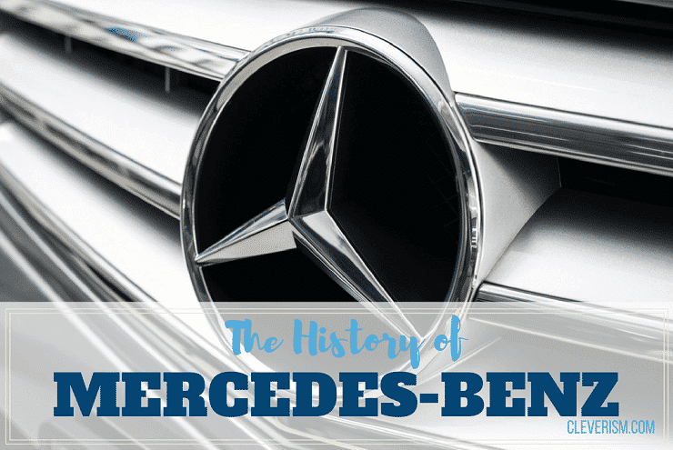 The history of mercedes benz for Mercedes benz marketing mix