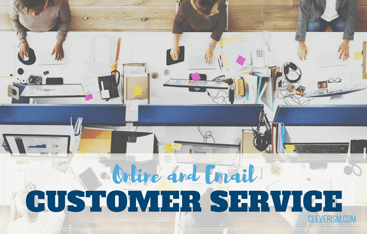 Online and Email Customer Service