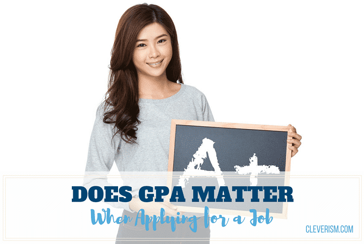 Does GPA Matter When Applying for a Job