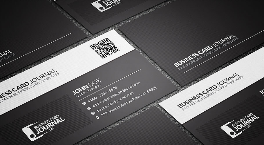 Free Business Card Templates That Are Stunning Beautiful - Business card template with photo