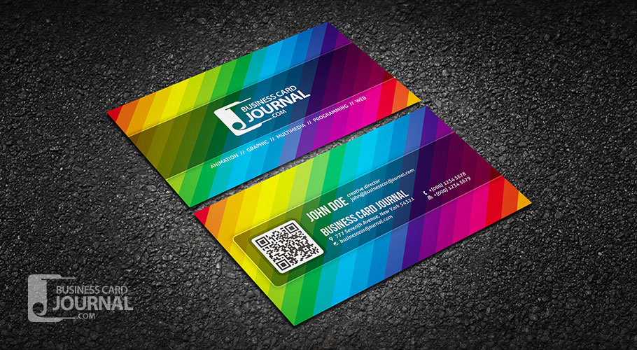 14-creative-color-spectrum-business-card