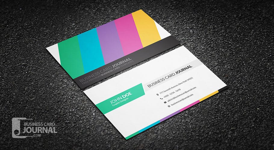 9-clean-and-creative-multicolor-business-card-template