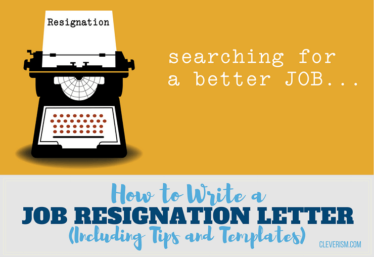 writing internship resignation letter