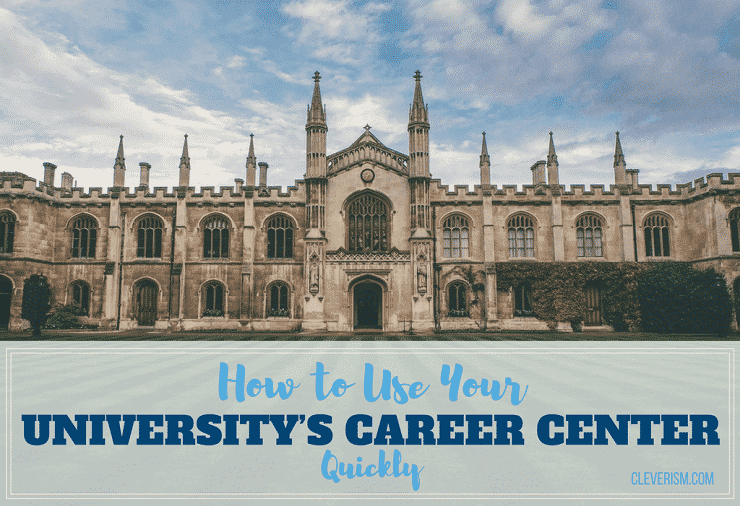 How to Use Your University's Career Center to Find a Job