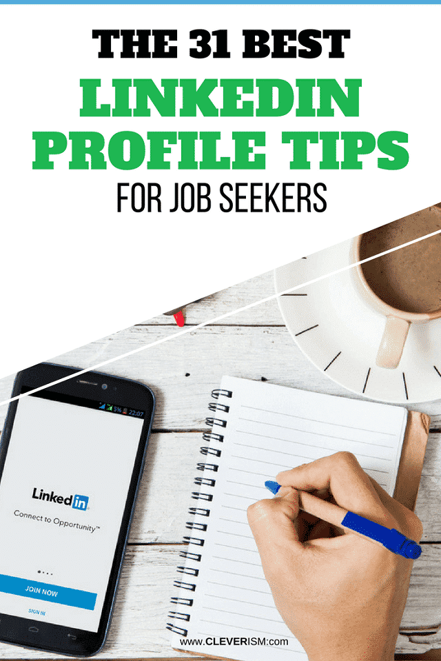 What the 31 Best LinkedIn Profile Tips for Job Seekers