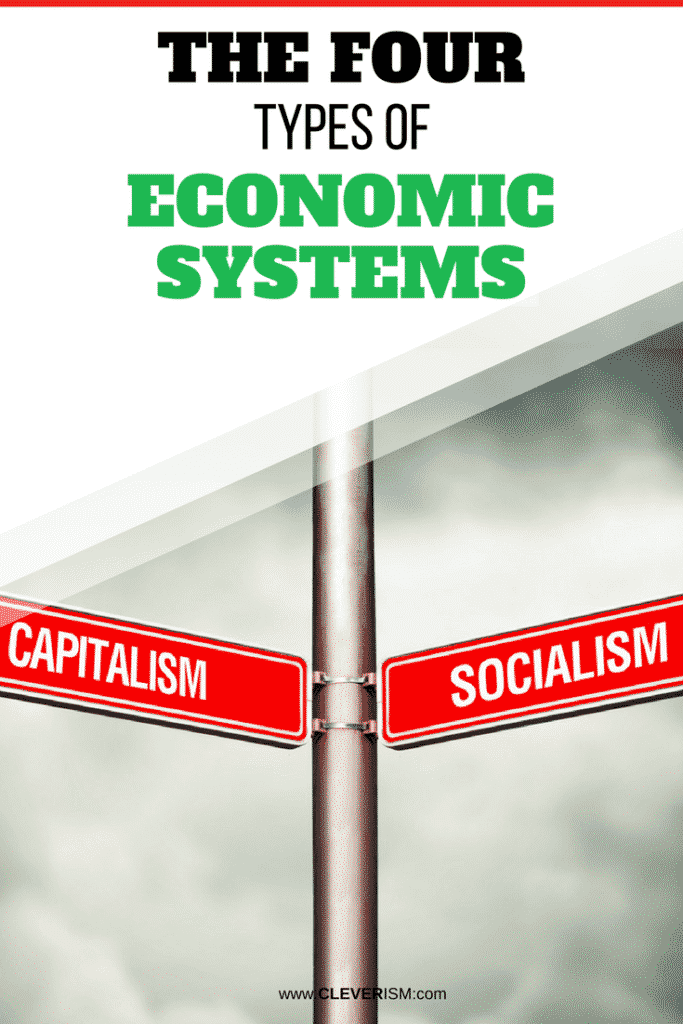 The Four Types of Economic Systems