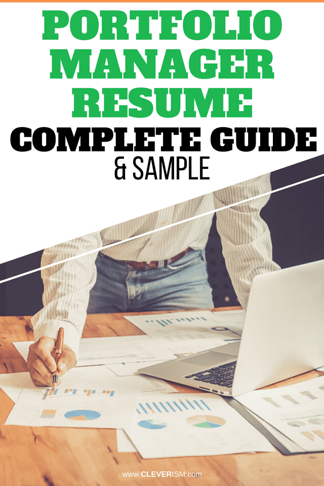 Portfolio Manager Resume: Sample and Complete Guide