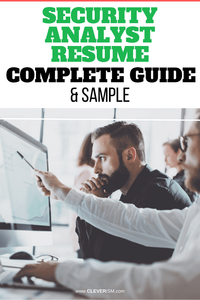 Security Analyst Resume: Sample & Complete Guide