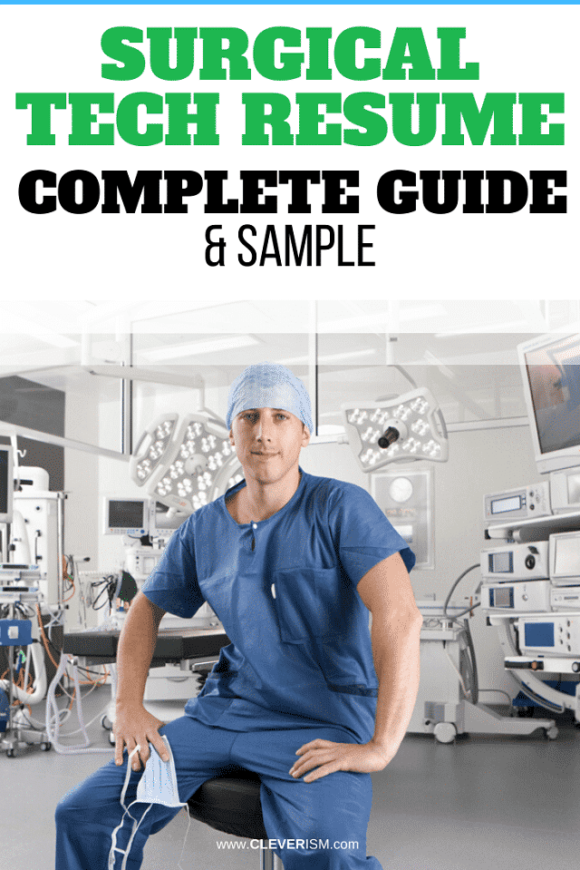 Surgical Tech Resume: Sample and Complete Guide