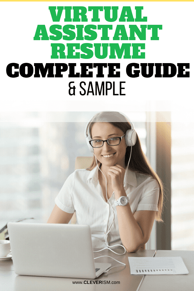 Virtual Assistant Resume: Sample and Complete Guide