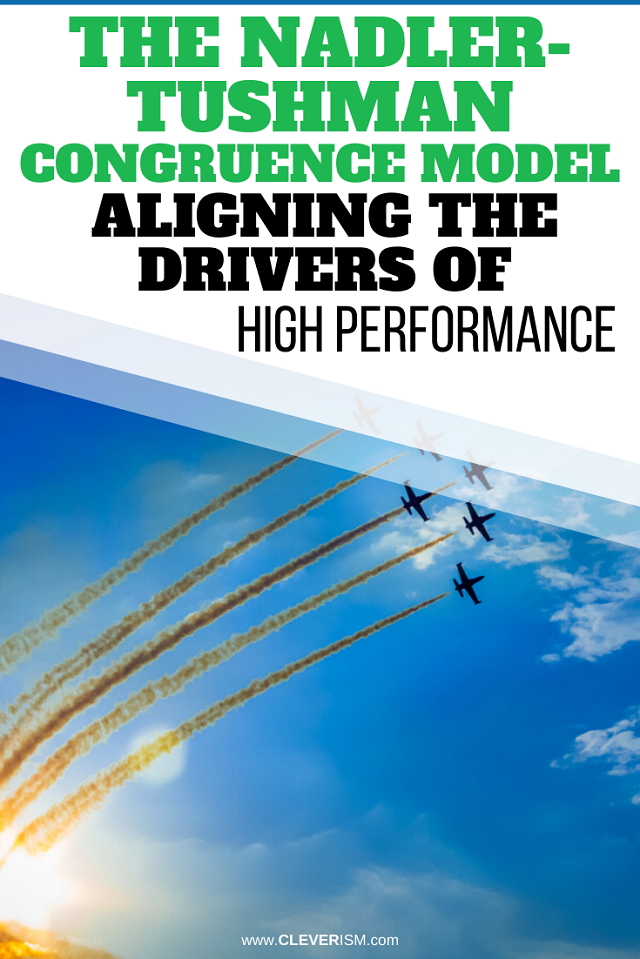 The Nadler-Tushman Congruence Model: Aligning The Drivers Of High Performance
