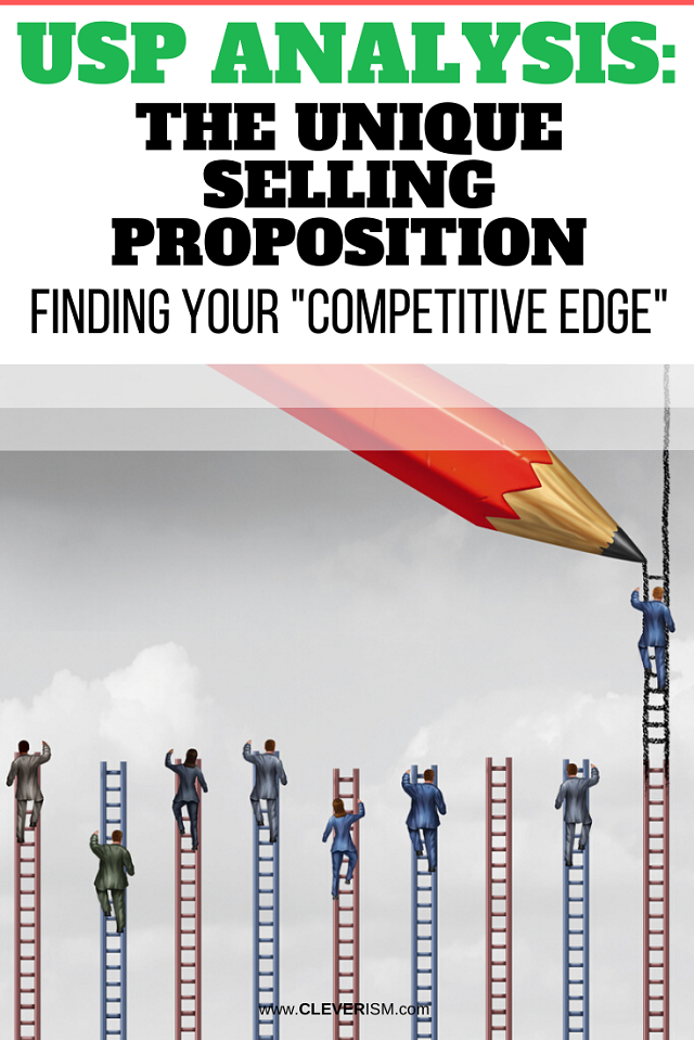 "USP Analysis: The Unique Selling Proposition: Finding Your ""Competitive Edge"""