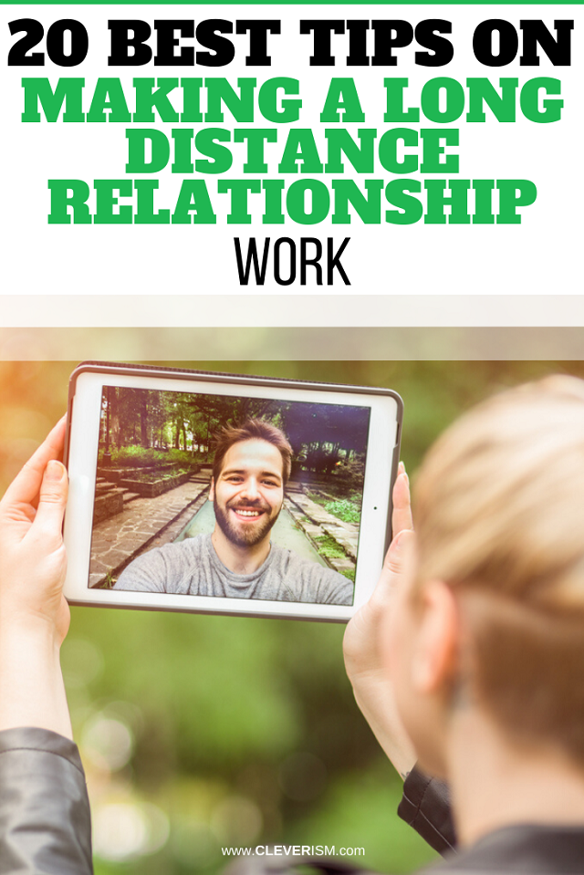 20 Best Tips On Making A Long-Distance Relationship Work