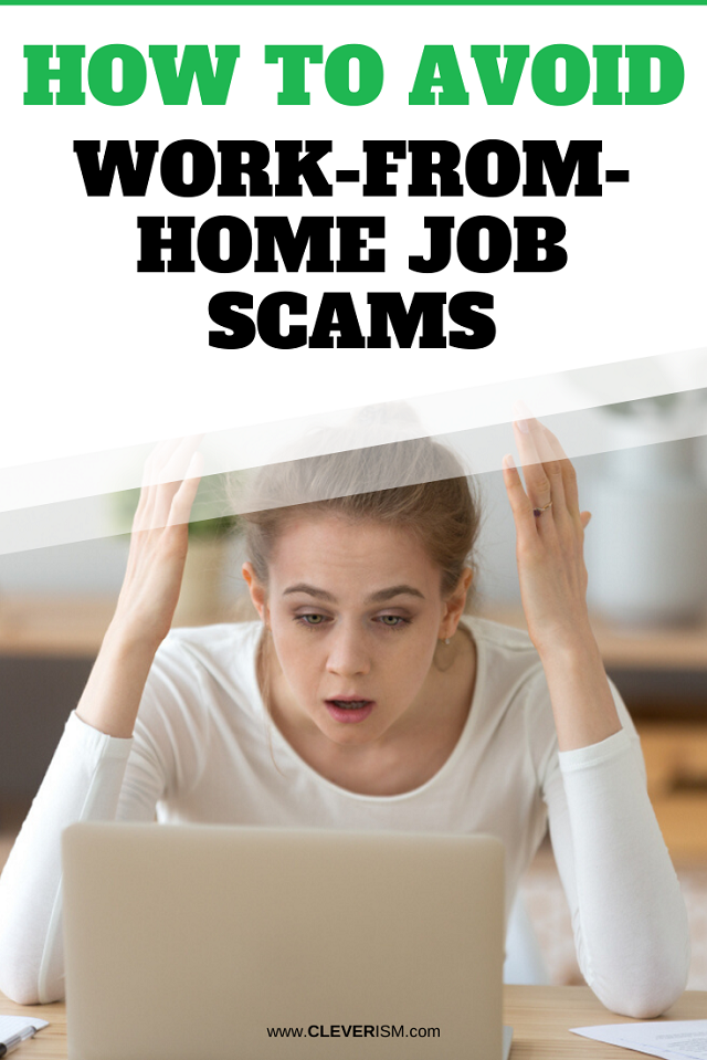 How To Avoid Work-From-Home Job Scams